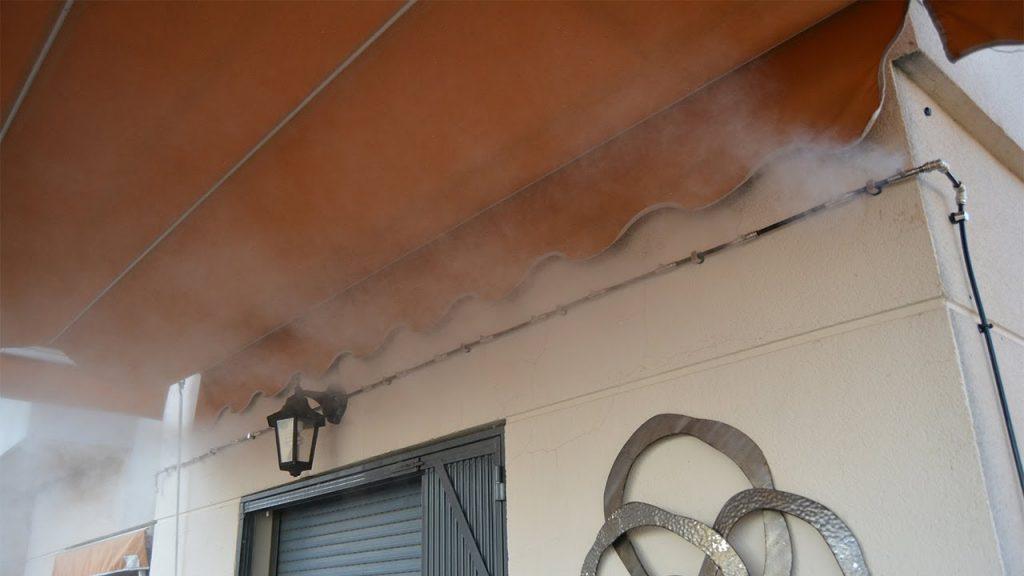 Nebulización de alta presión sistema doméstico. Qué es, y cómo se instala