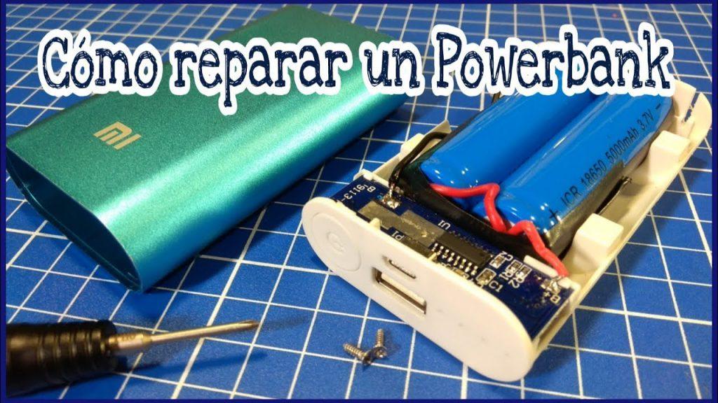 Cómo podemos reparar un powerbank