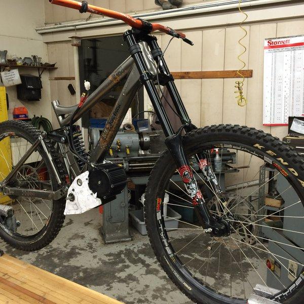 Bicicleta eléctrica de Rescate