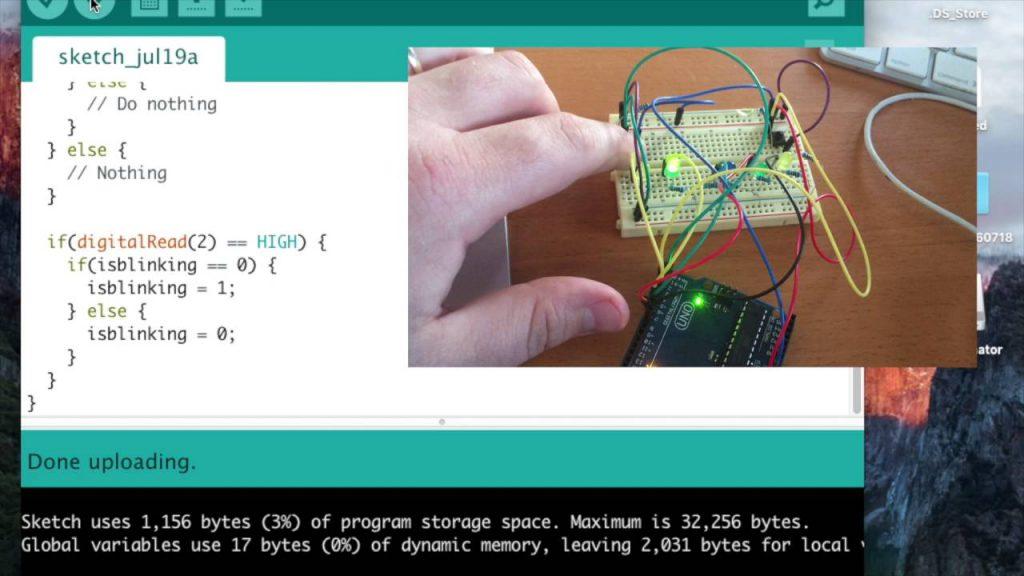 Programa basado en eventos de Arduino