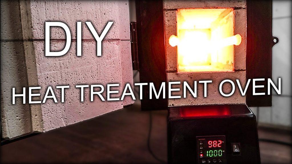 Horno de tratamiento DIY