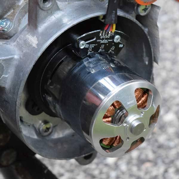 Cólo electrificar una Honda NC50