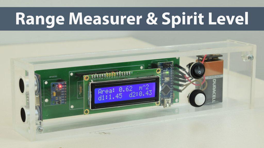 Medidor de Rango Arduino y Proyecto Digital Spirit Level