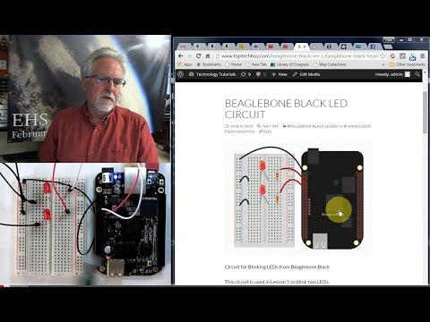 Beaglebone Black LECCIÓN 5: LED parpadeante de los pines GPIO