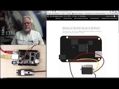 Beaglebone Black LECCIÓN 12: Control del servo desde Python usando PWM