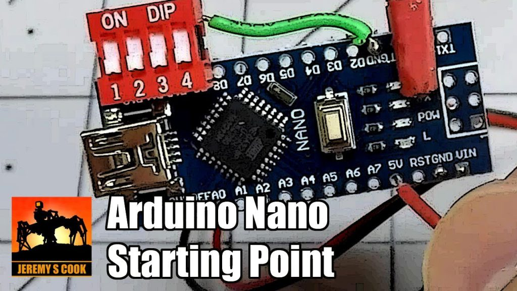 Cómo configurar un Arduino Nano compacto (DIP Switches / INPUT_PULLUP)