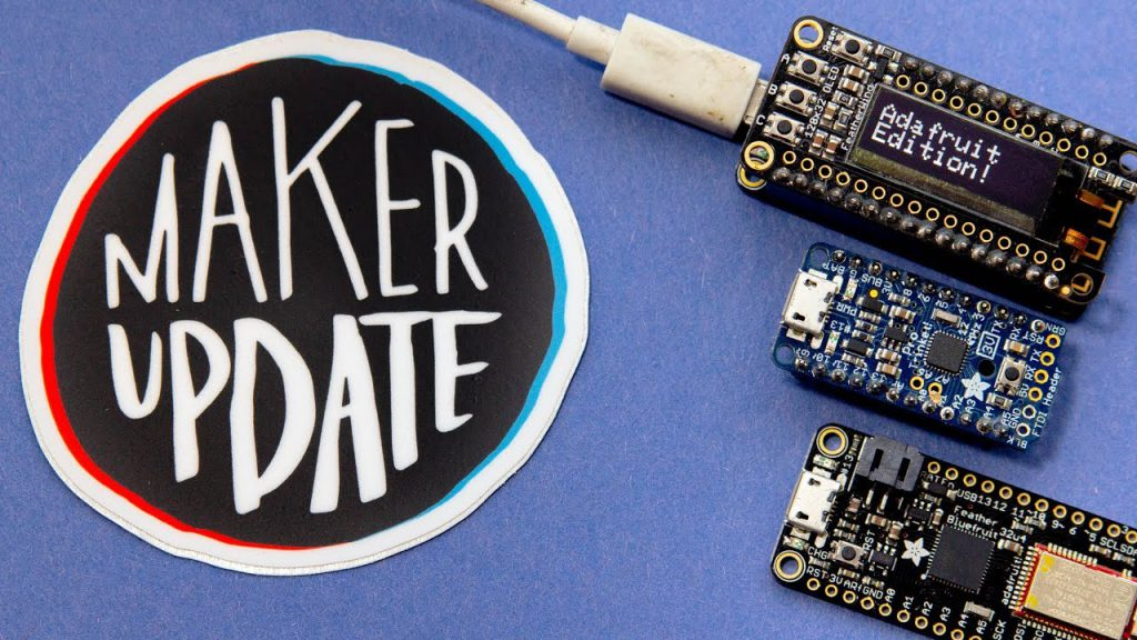Maker Update: Creature Feature [Maker Update #122] @makerprojectlab @adafruit edition!