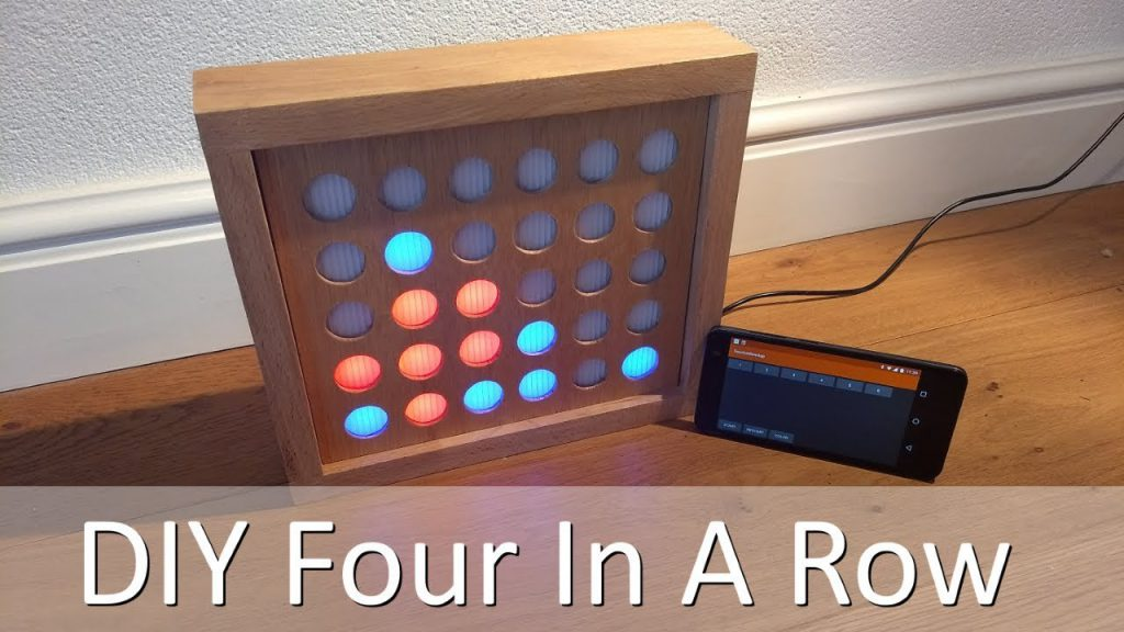 Juega gratis Four In A Row #DIY