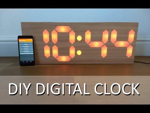 DIY Reloj Digital de 7 Segmentos