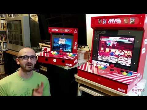 Construye un Neo Geo Mini Arcade para dos jugadores con Raspberry Pi