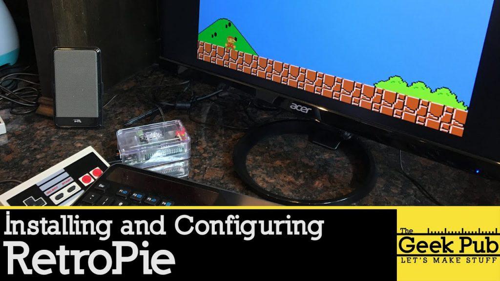 Configuración de Retropie en una Raspberry Pi 3 para un Arcade Cabinet
