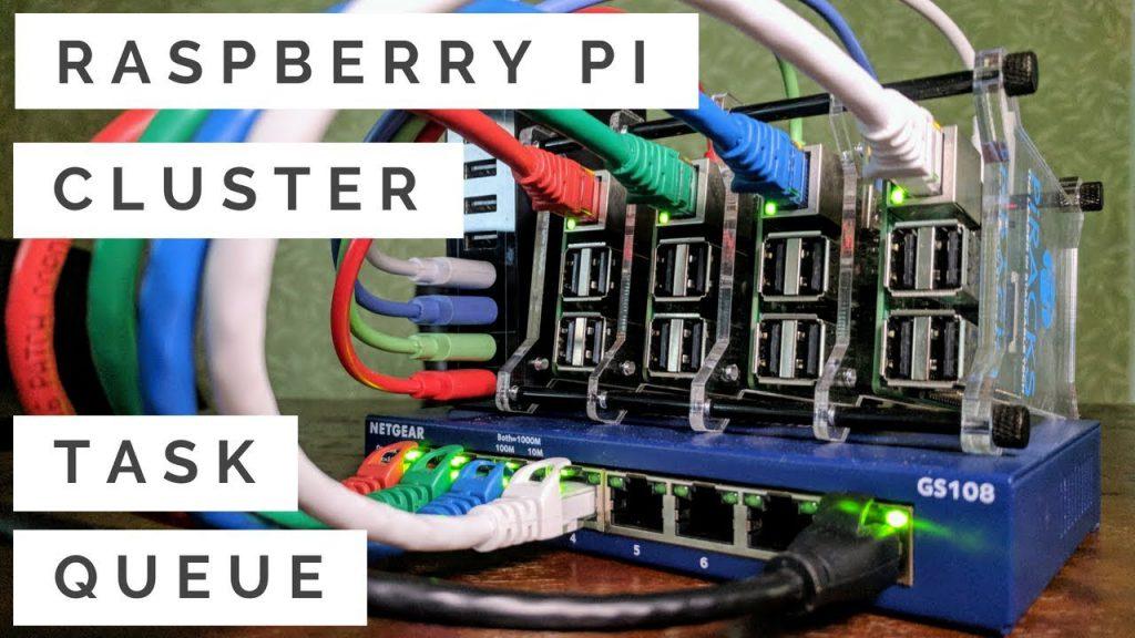 Raspberry Pi 3 Cluster Task Queue