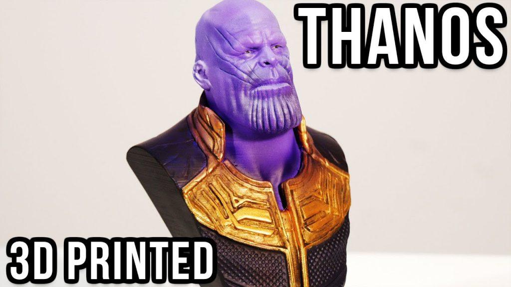 Thanos – Impresión 3D y Pintura