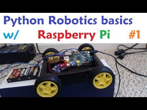 Raspberry pi con Python para Robótica 1 – Suministros necesarios