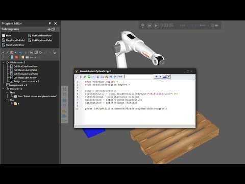 Python Robotics – 1 – Lee un programa de robots