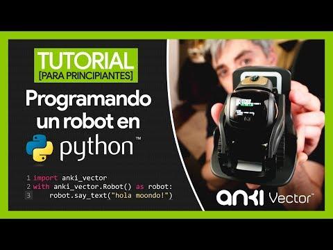 Programando un robot en Python – Tutorial para principiantes