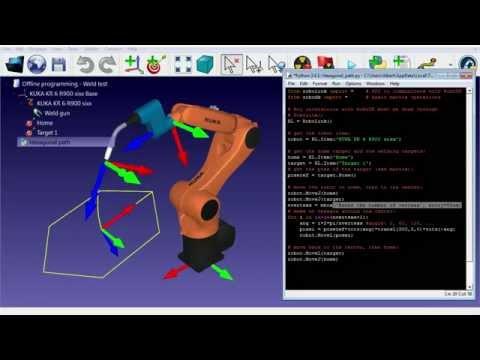 Programación fuera de línea con Python – RoboDK