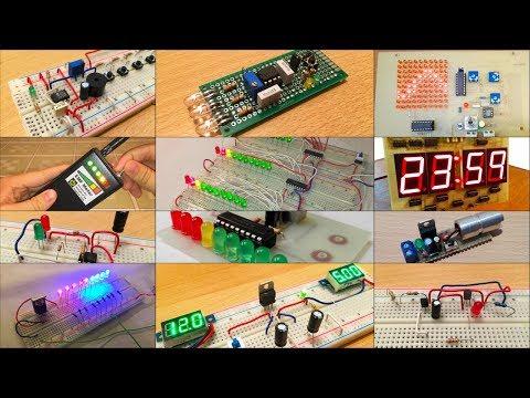 Los 12 principales proyectos de electrónica en la placa de pruebas con