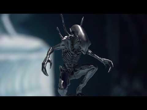Impresión 3D diseños: Alien Xenomorph 3D Zbrush