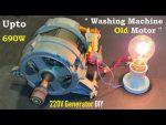 Motor universal a partir un mezclador DIY
