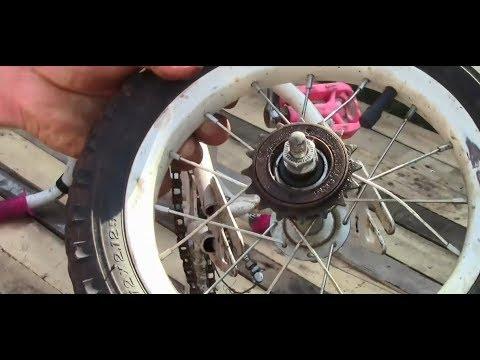 Cómo hacer una bicicleta sin madera con motor CC