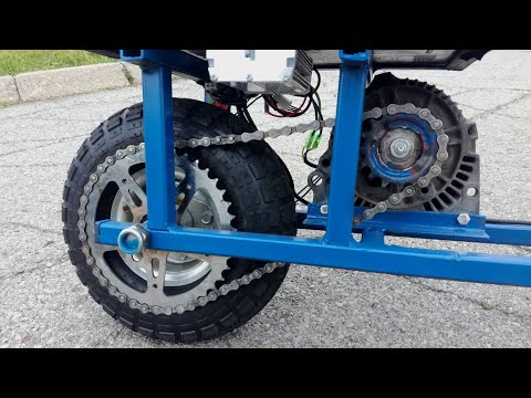 Motocicleta eléctrica DIY por solo 7000