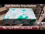 Fusión de HDPE -polietileno de alta densidad