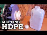 Hacer bloques de plástico de fusión de HDPE