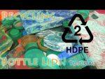Cómo reciclar botella de polietileno