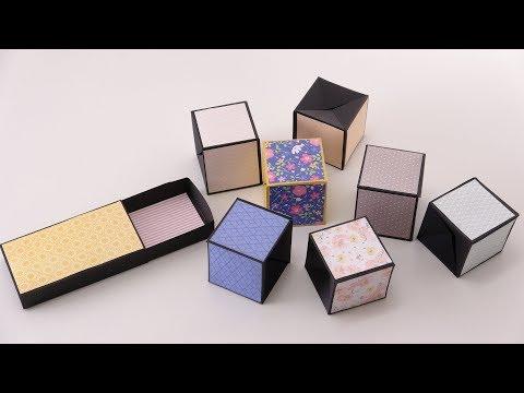 Cubos de pop-Card Tutorial