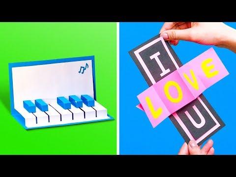 15 POP-UP CARDS alguien va AMOR
