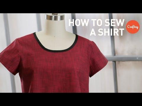 Cómo coser una camisa: Fácil Pullover | Proyectos de costura craftsy