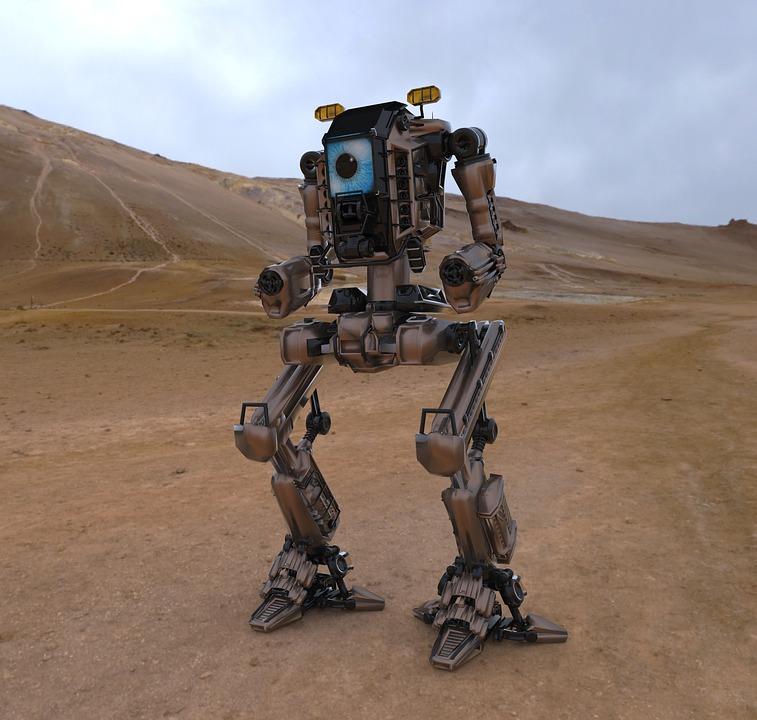 ¡Un robot bípedo con arduino!