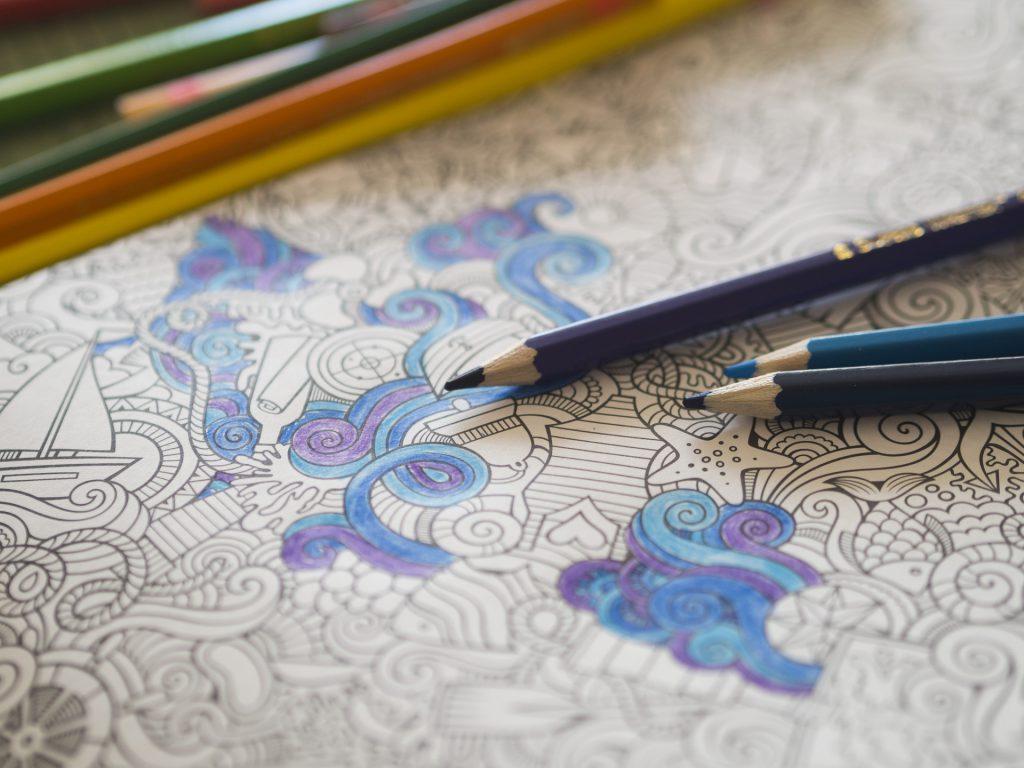 Dibujos anti -estrés, contra la ansiedad