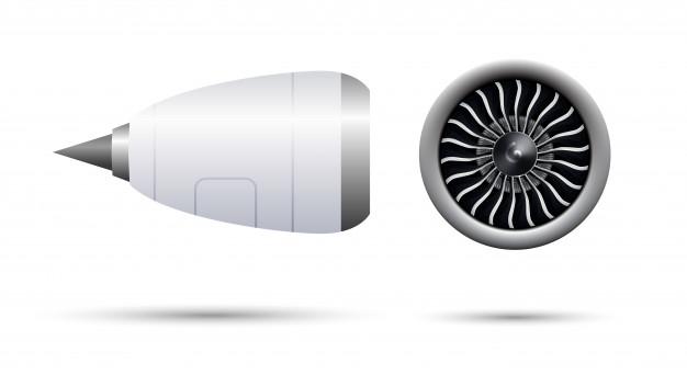 Turbina Jet ,impresión 3D