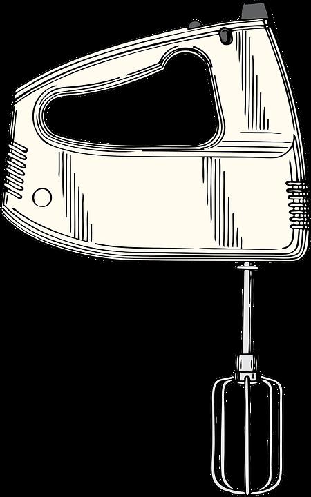 Batidora de mano eléctrica casera ,con carga USB
