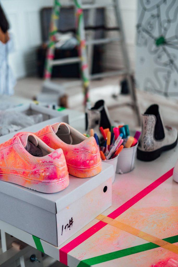 Personaliza tu zapatillas con Hidrografia.